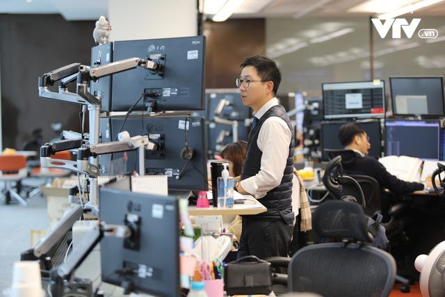Bên trong sàn đặt lệnh chứng khoán hiện đại nhất Hàn Quốc - Ảnh 6.