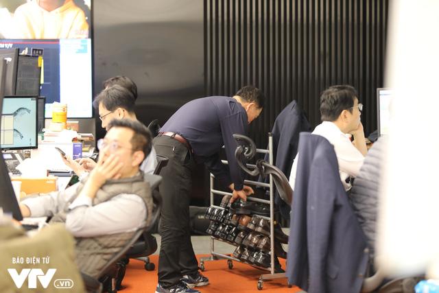 Bên trong sàn đặt lệnh chứng khoán hiện đại nhất Hàn Quốc - Ảnh 9.