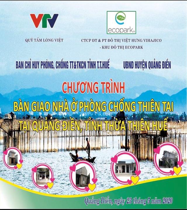 Quỹ Tấm lòng Việt bàn giao nhà chống bão lũ, tặng học bổng tại Thừa Thiên Huế - Ảnh 2.