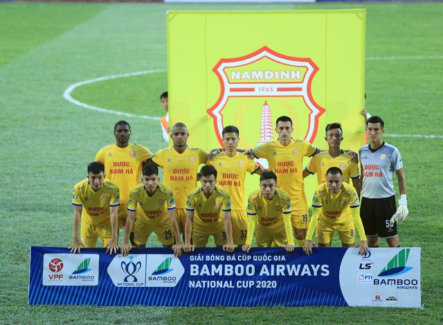 ẢNH: DNH Nam Định thắng thuyết phục, loại Hoàng Anh Gia Lai khỏi Cúp Quốc gia 2020 - Ảnh 7.