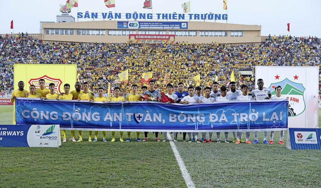 ẢNH: DNH Nam Định thắng thuyết phục, loại Hoàng Anh Gia Lai khỏi Cúp Quốc gia 2020 - Ảnh 8.