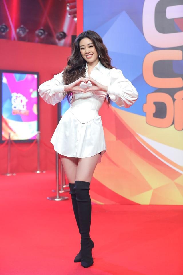 Hoa hậu Khánh Vân xông đất Ơn giời! Cậu đây rồi mùa 7 - Ảnh 2.
