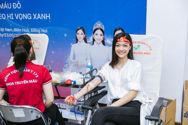 Hoa hậu Đỗ Mỹ Linh, Tiểu Vy cùng 200 tình nguyện viên hiến máu nhân đạo - Ảnh 4.