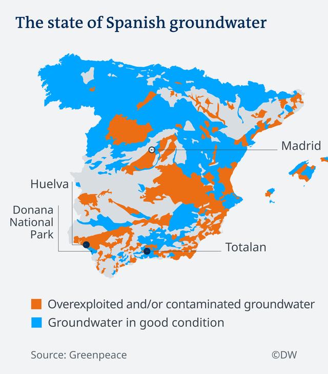 Khủng hoảng nước ở những miệng giếng tử thần Tây Ban Nha - Ảnh 1.