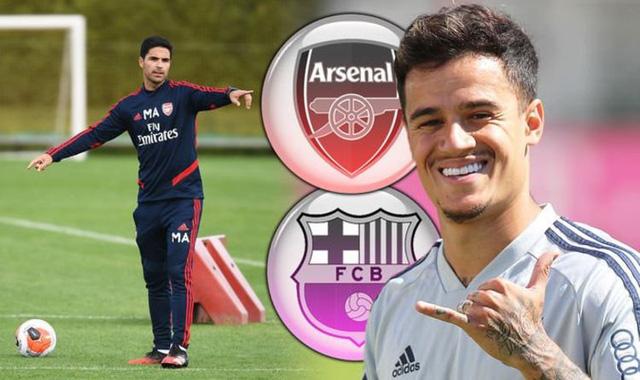 Arsenal đàm phàn chiêu mộ Coutinho - Ảnh 1.