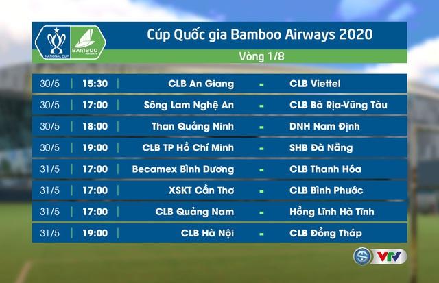 Cúp Quốc gia 2020 ngày 25/5: CLB Đồng Tháp 3-1 CLB Hải Phòng, S.Khánh Hoà 0-1 CLB Viettel, Phố Hiến 1-2 CLB Thanh Hoá, HL Hà Tĩnh 2-1 XM Fico-YTL Tây Ninh - Ảnh 2.