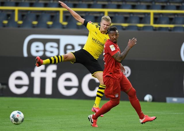 Haaland dính chấn thương sau trận đấu với Bayern Munich - Ảnh 3.
