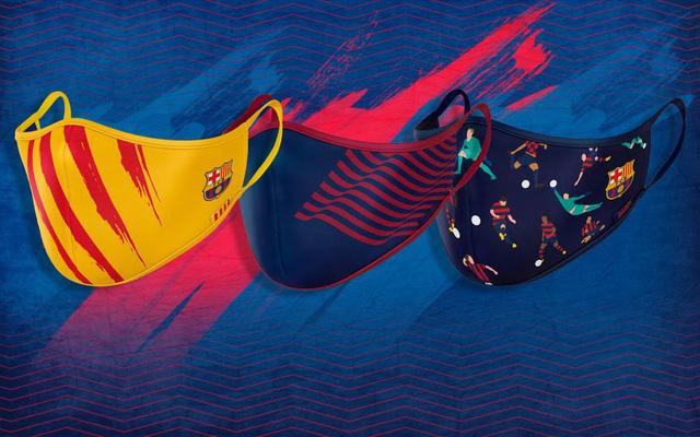 Barcelona ra mắt bộ sưu tập khẩu trang phòng dịch - Ảnh 1.