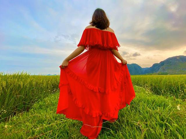 Mùa lúa vàng đẹp đến nao lòng ở vùng Tam Cốc - ảnh 2
