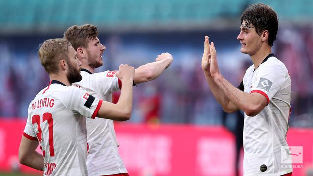 VIDEO Highlight Leipzig 2-2 Hertha Berlin: Chia điểm kịch tính (Vòng 28 VĐQG Đức Bundesliga) - Ảnh 1.