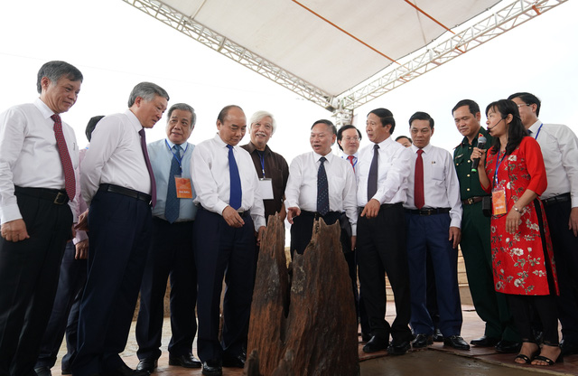 Thủ tướng yêu cầu bảo tồn nguyên trạng di tích bãi cọc Cao Quỳ - Ảnh 1.