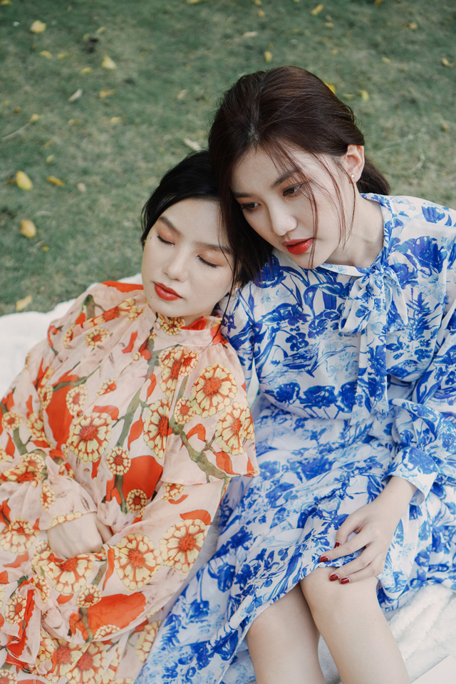 Bộ đôi Cả một đời ân oán Lương Thanh - Hạ Anh bất ngờ khoe ảnh thân thiết - Ảnh 6.