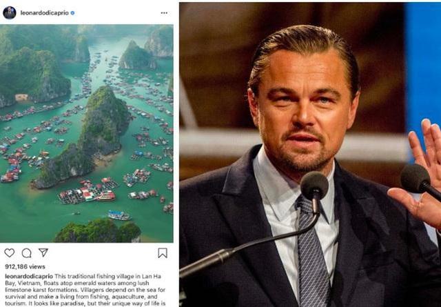 Tài tử Leonardo DiCaprio kêu gọi bảo vệ môi trường Vịnh Lan Hạ - Ảnh 1.