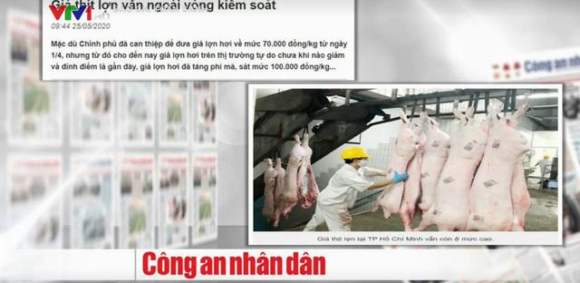 Nhóm lợi ích nào đã đẩy giá thịt lợn chỉ rẻ trên tivi? - Ảnh 2.