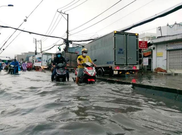TP.HCM sắp đón những cơn mưa cực lớn, đề phòng ngập lụt khu vực thấp - Ảnh 8.