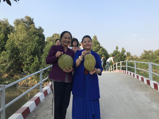 Quỹ Tấm lòng Việt hỗ trợ xây cầu dân sinh tại xã nghèo tỉnh Tiền Giang - Ảnh 3.
