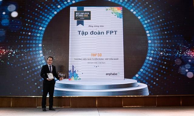 FPT và VNG dẫn đầu Top Thương hiệu Nhà tuyển dụng hấp dẫn nhất trong lĩnh vực CNTT - Ảnh 1.
