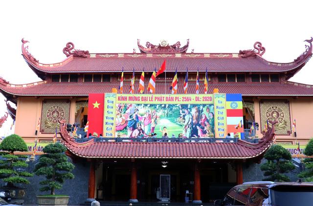 Giáo hội Phật giáo Việt Nam Thành phố Hồ Chí Minh tổ chức Đại lễ Phật đản 2020 Phật lịch 2564 - Ảnh 3.
