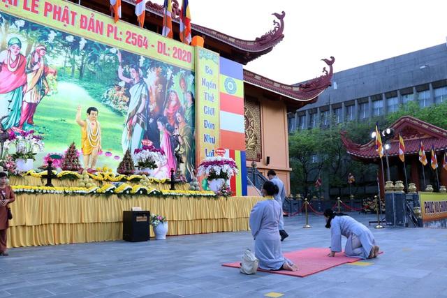 Giáo hội Phật giáo Việt Nam Thành phố Hồ Chí Minh tổ chức Đại lễ Phật đản 2020 Phật lịch 2564 - Ảnh 2.