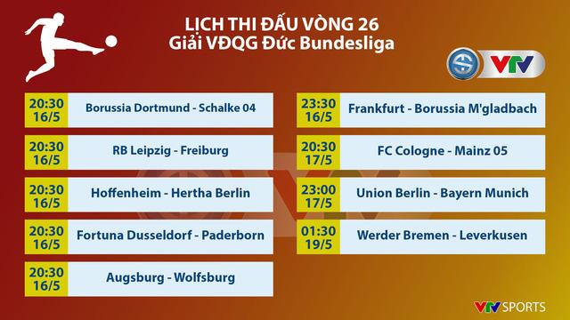 Hôm nay (16/5), Bundesliga trở lại: Tâm điểm cuộc đối đầu Dortmund - Schalke 04 - Ảnh 1.
