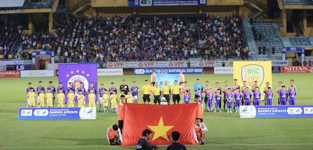 ẢNH: Quả bóng vàng 2019 Hùng Dũng góp mặt, CLB Hà Nội vượt qua Đồng Tháp tại Cúp Quốc gia 2020 - Ảnh 3.