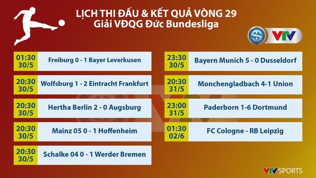VIDEO Highlight: Paderborn 1-6 Dortmund (Vòng 29 bóng đá Đức Bundesliga) - Ảnh 1.