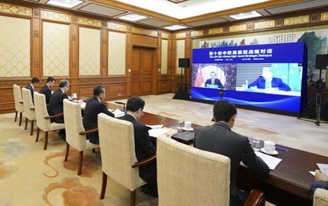 Trung Quốc và EU là đối tác chiến lược toàn diện lâu dài - Ảnh 1.