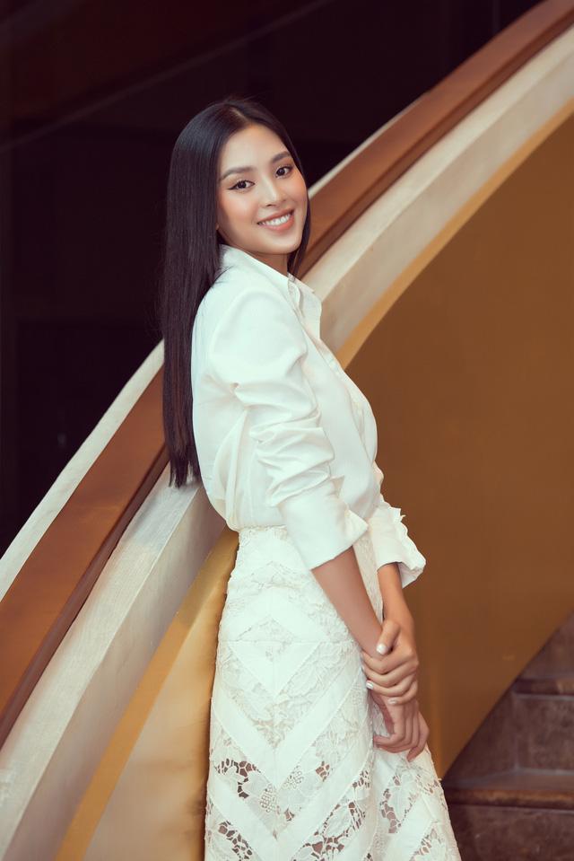 """Sau thả thính, Hoa hậu Tiểu Vy bất ngờ sánh đôi bên soái ca"""" Quang Đại - Ảnh 3."""