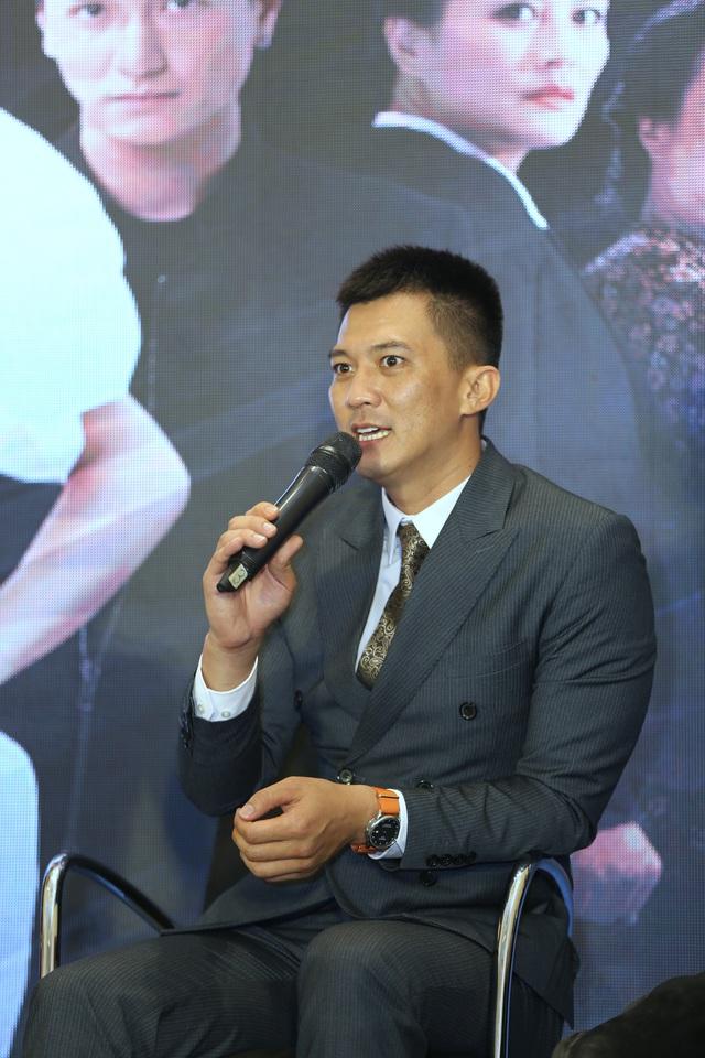 Phương Oanh diện váy xẻ cao, Hà Việt Dũng chuẩn soái ca trong họp báo phim mới Lựa chọn số phận - Ảnh 13.