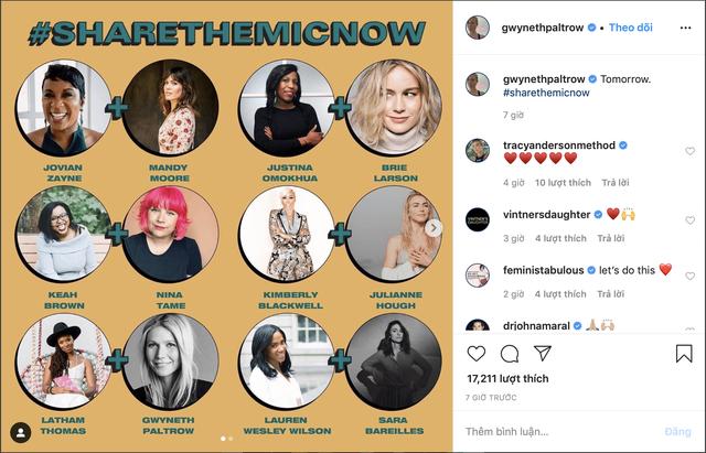 Ms. Marvel Brie Larson, Julia Roberts trao quyền truy cập Instagram cho phụ nữ da màu - Ảnh 1.