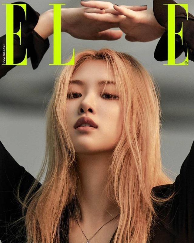 Rosé (BLACKPINK) biến hóa khác thường trên Elle - Ảnh 1.