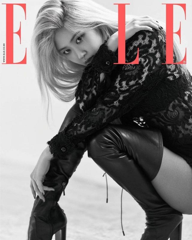 Rosé (BLACKPINK) biến hóa khác thường trên Elle - Ảnh 3.