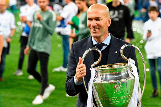 Zinedine Zidane trước cột mốc 200 trận dẫn dắt Real Madrid - Ảnh 1.