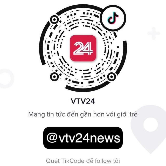 TikTok vtv24news - Vựa muối của VTV Digital cán mốc 1 triệu người theo dõi - ảnh 1