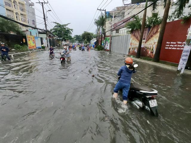 TP.HCM sắp đón những cơn mưa cực lớn, đề phòng ngập lụt khu vực thấp - Ảnh 2.