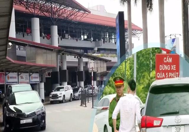 Xử lý nghiêm nạn cò mồi xe dù tại sân bay quốc tế Nội Bài - Ảnh 1.