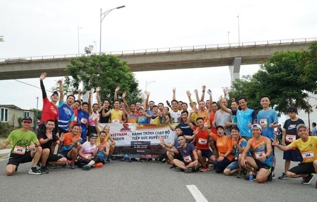 Hành trình chạy bộ tiếp sức xuyên Việt có thể cán đích sớm - Ảnh 1.