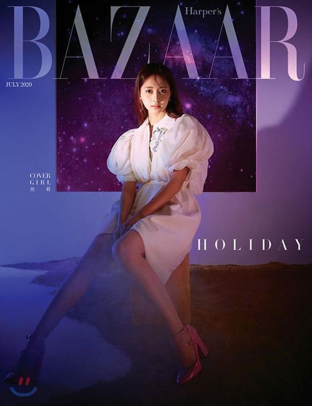 TWICE quyến rũ chết người trên tạp chí Harpers Bazaar - Ảnh 4.