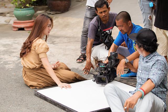Diệp Bảo Ngọc đóng cặp với Tim trong phim mới trên VTV3 - Ảnh 4.