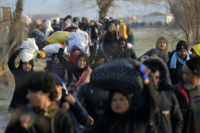 Số người vượt biên trái phép vào châu Âu tăng cao kỷ lục kể từ dịch COVID-19 - Ảnh 1.