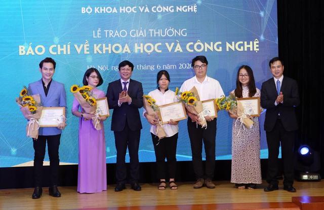 VTV giành 2 giải thưởng Báo chí về KH&CN năm 2019 - Ảnh 5.