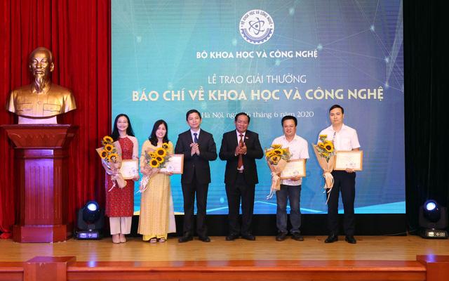 VTV giành 2 giải thưởng Báo chí về KH&CN năm 2019 - Ảnh 7.