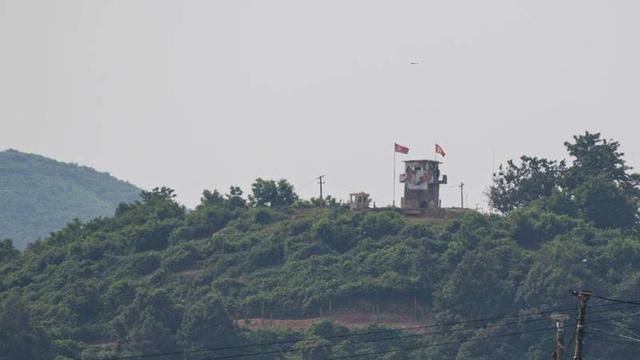 Binh sĩ Triều Tiên xuất hiện ở khu phi quân sự sát biên giới với Hàn Quốc - Ảnh 1.