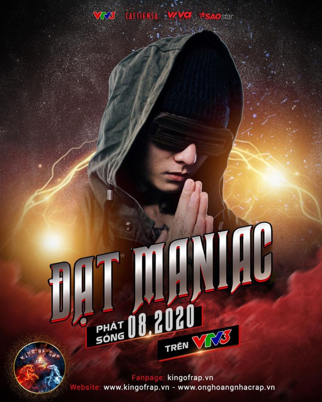 Ma tốc độ Datmaniac bất ngờ ngồi ghế nóng King of Rap 2020 - Ảnh 1.