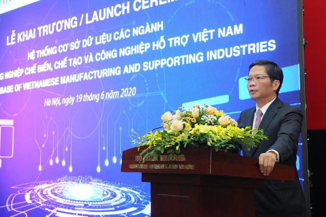 Khai trương hệ thống cơ sở dữ liệu các ngành công nghiệp hỗ trợ Việt Nam - Ảnh 1.