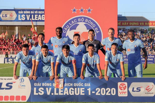 Vòng 5 giải VĐQG LS 2020: Chùm ảnh Hồng Lĩnh Hà Tĩnh hoà 0-0 SHB Đà Nẵng - Ảnh 1.