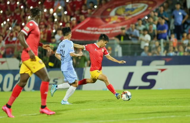 Vòng 5 giải VĐQG LS 2020: Chùm ảnh Hồng Lĩnh Hà Tĩnh hoà 0-0 SHB Đà Nẵng - Ảnh 11.