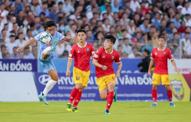 Vòng 5 giải VĐQG LS 2020: Chùm ảnh Hồng Lĩnh Hà Tĩnh hoà 0-0 SHB Đà Nẵng - Ảnh 5.