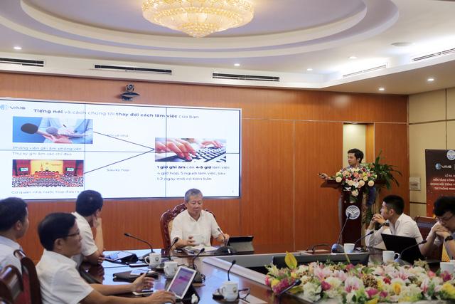 VAIS và Vbee - Bộ đôi nền tảng xử lý giọng nói tiếng Việt Make in Vietnam ra mắt - Ảnh 2.