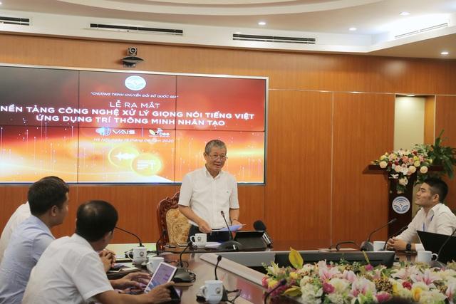 VAIS và Vbee - Bộ đôi nền tảng xử lý giọng nói tiếng Việt Make in Vietnam ra mắt - Ảnh 1.